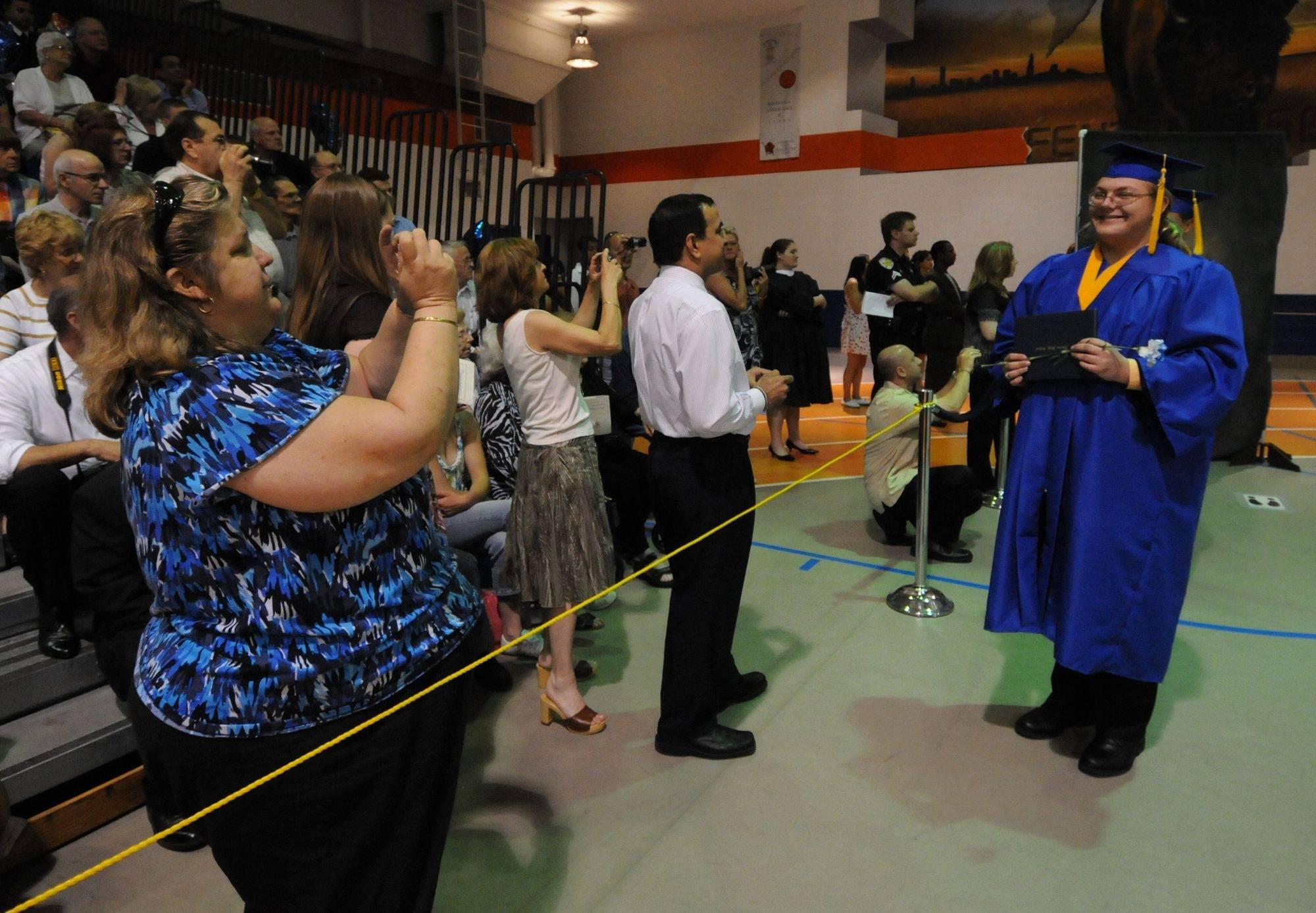 Graduation ceremonies take place Sunday, May 23, 2010 at Fenton High School in Bensenville.