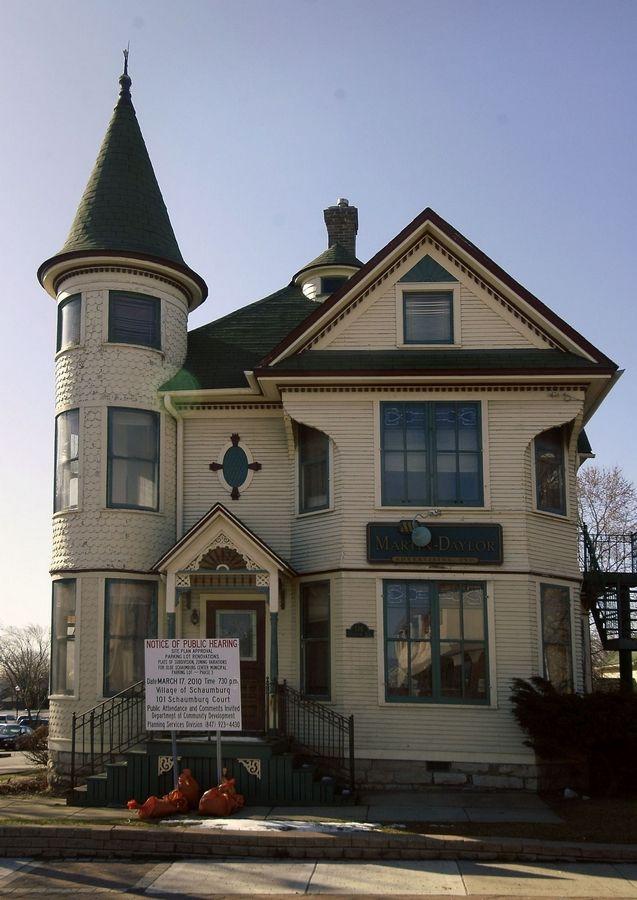 Schaumburg Oks Plans To Renovate Historic Turret House