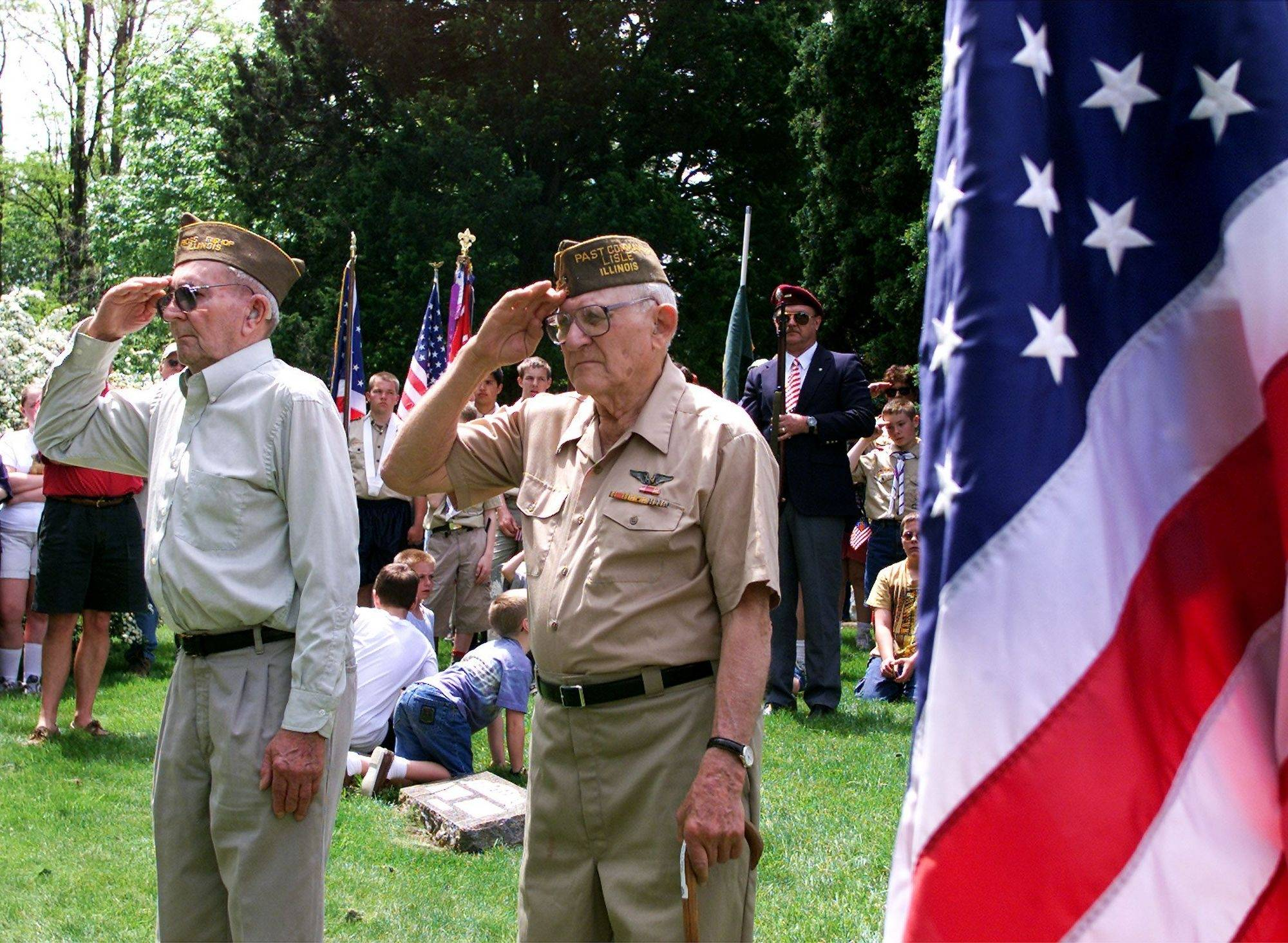 Andy Yender, a charter member of Lisle's VFW post, will take part in the village's Memorial Day Parade and share his experiences in World War II in a discussion Thursday, May 27.