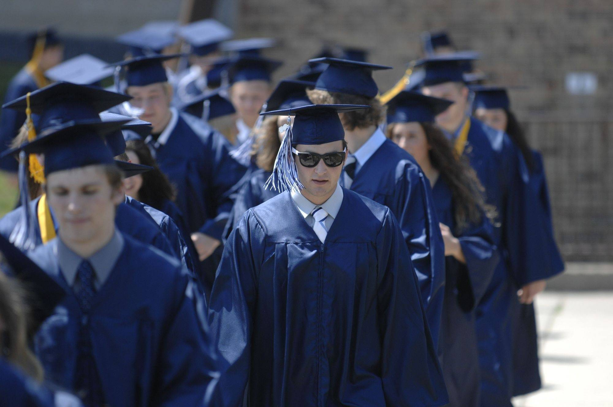 Images from Cary-Grove High School's graduation ceremony Saturday, May 29, 2010.