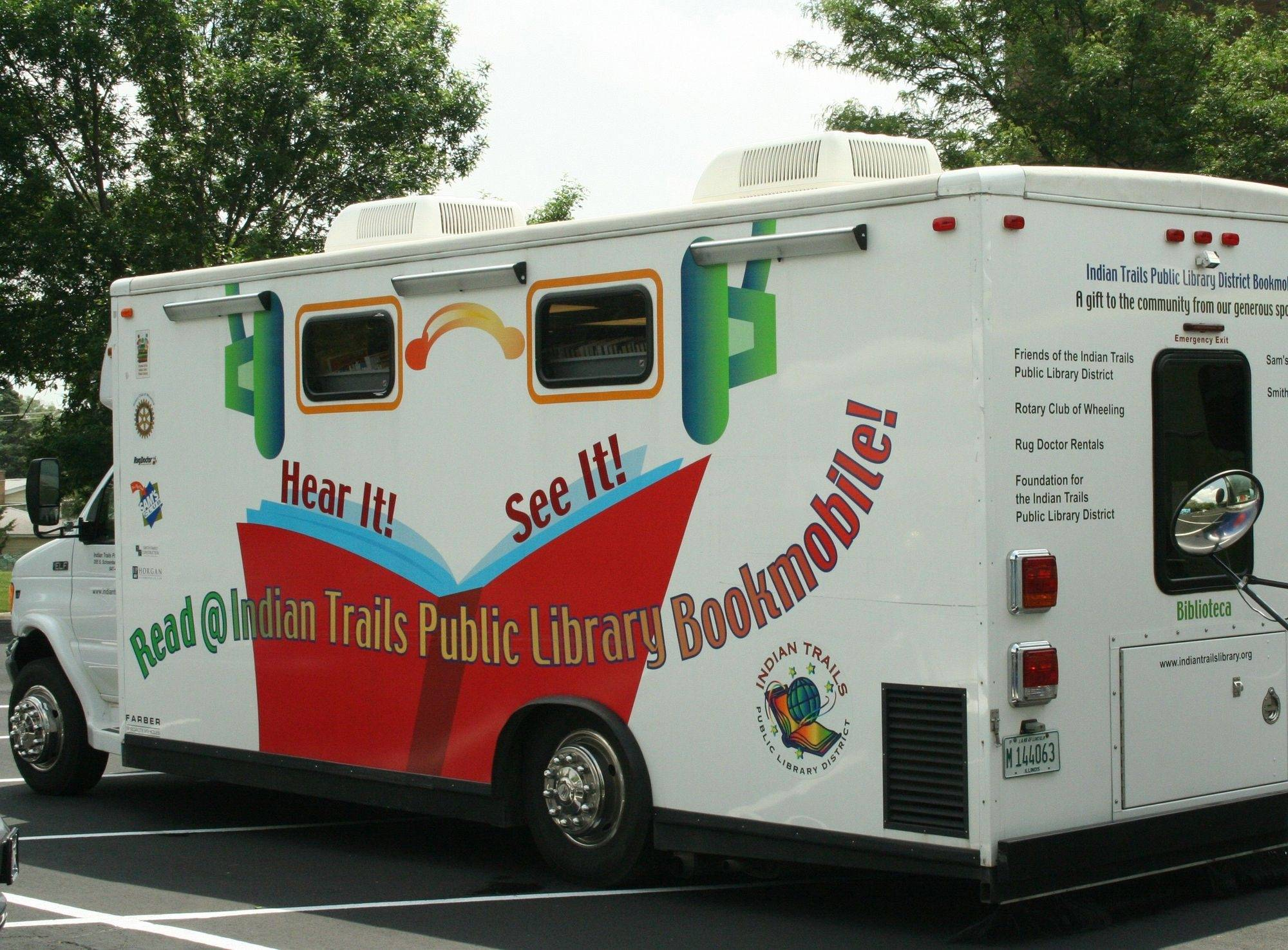 Wheeling library retires bookmobile, opens new branch