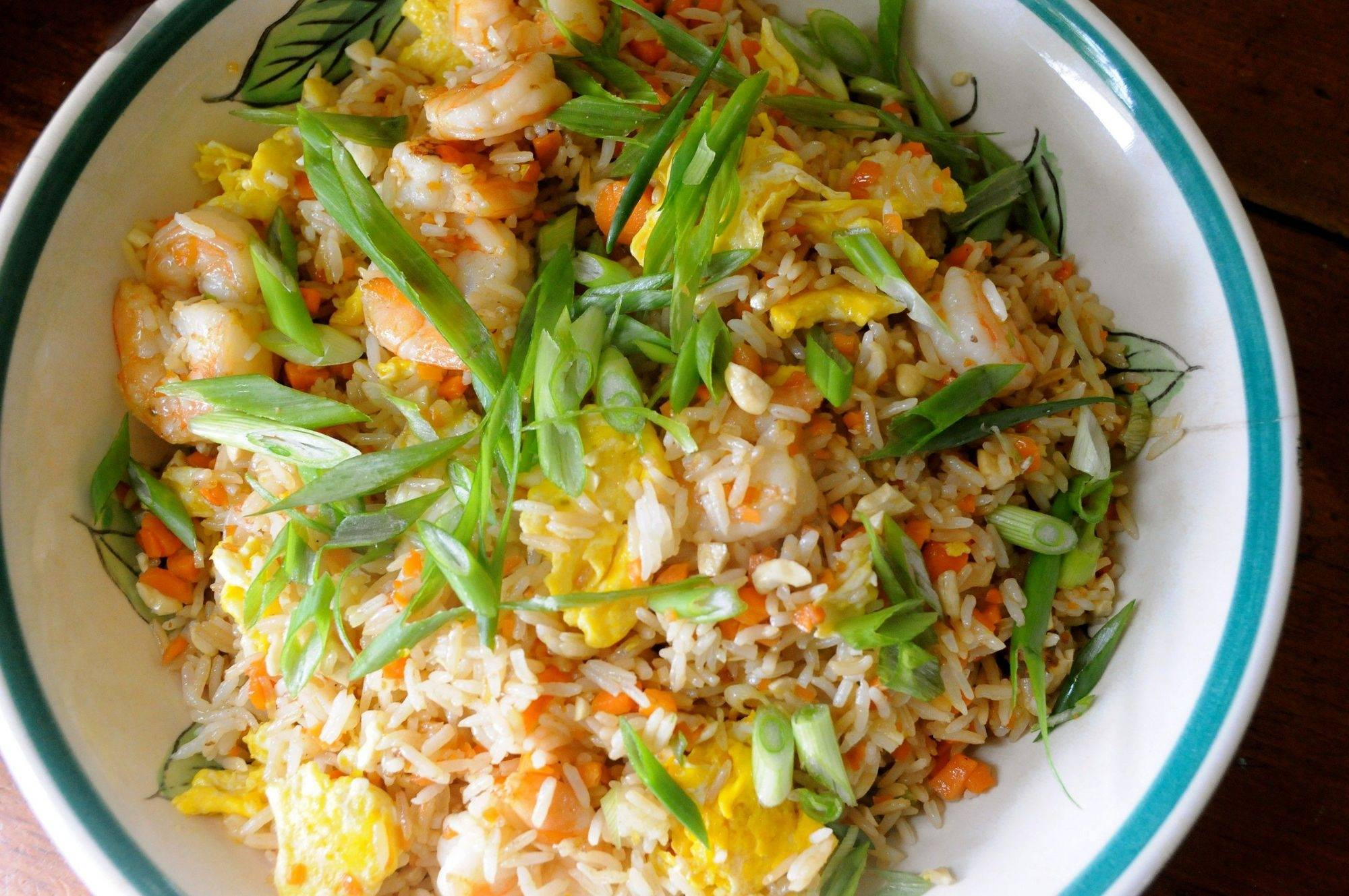 With the right recipe (this one adapted from chef Curtis Stone), fried rice can be a crunchy (not soggy), flavorful (not salty) and delicious dish.