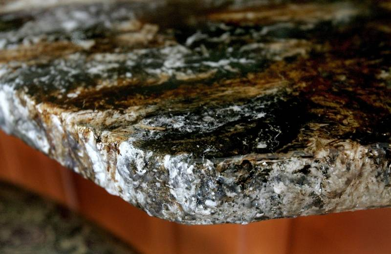 Granite Covered Countertops : stone on laminate countertops then is covered with a clear top coat ...