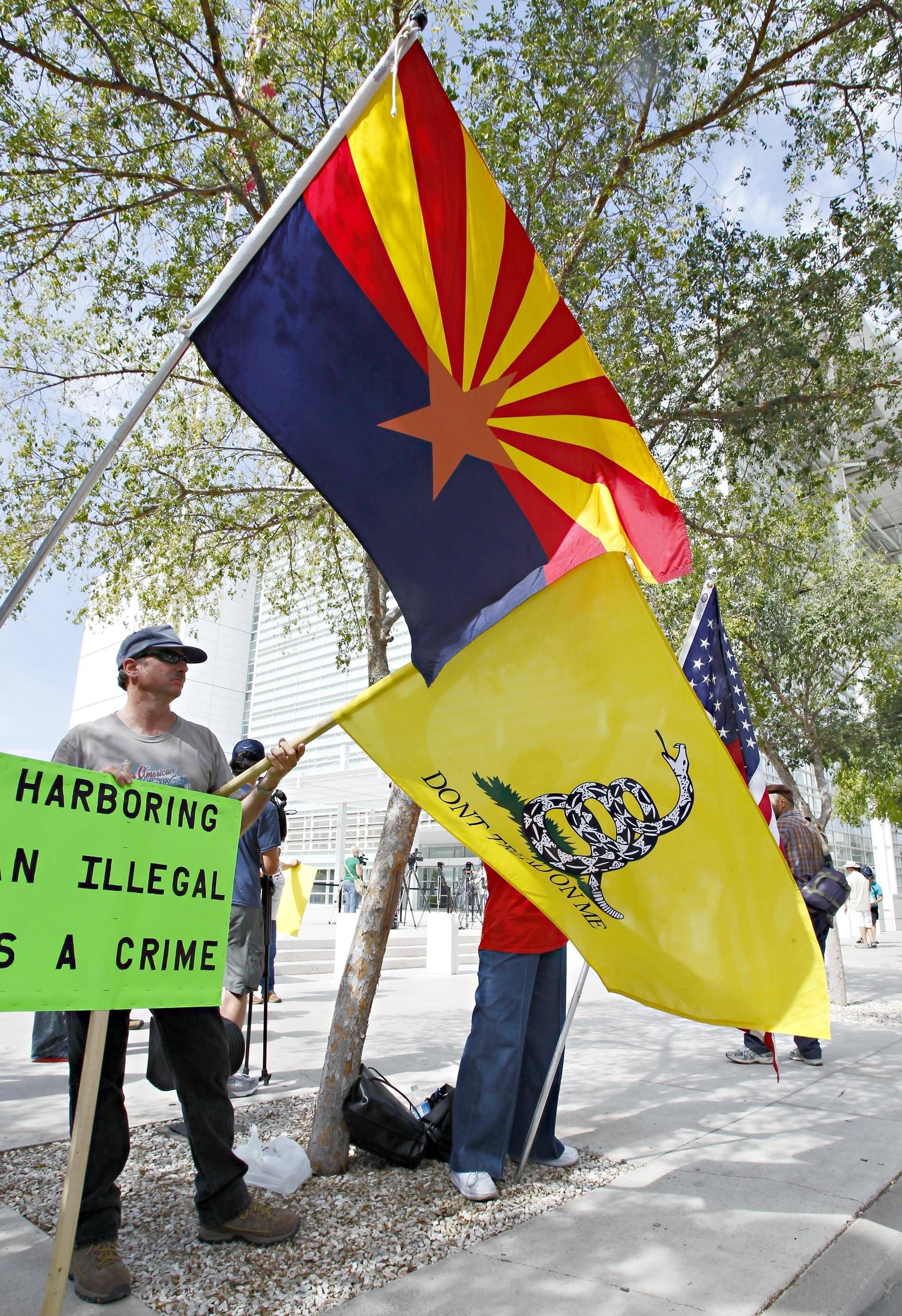 sb1070 the criminal law on illegal immigration The us supreme court struck down most of arizona's controversial sb 1070 anti-illegal immigration law on monday, invalidating most of its provisions the justices did allow police to check the.