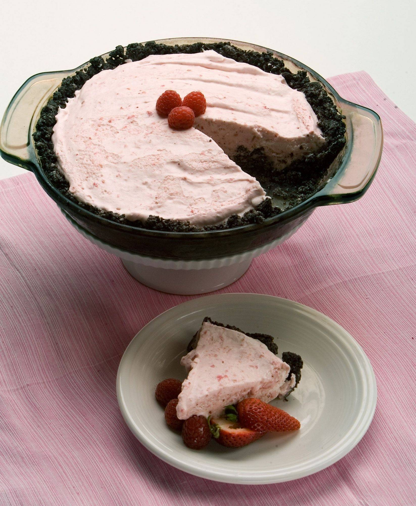 A slice of cool Summer Fair Berry Pie will earn raves, if not a blue ribbon, from guests.