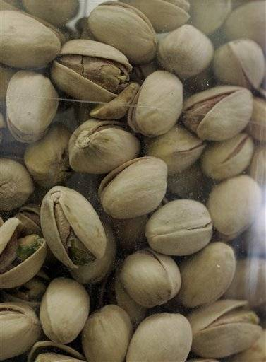 "American author Paula Danziger is quoted as saying, ""Pistachio nuts cure any problem."""