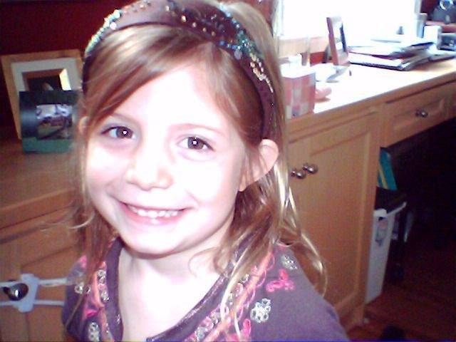 This undated photo released by her family shows Abigail Taylor, 6. The family of the 6-year-old girl whose intestines were partially sucked out by a Minnesota swimming pool drain June 29, 2006 says the child has died.
