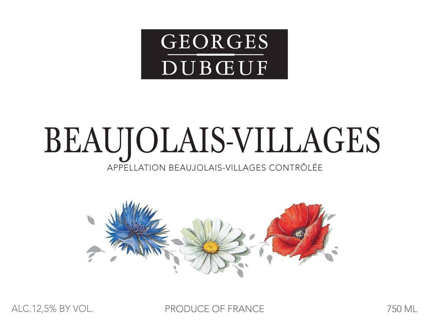 "Beaujolais-Villages ""Flower Label"""