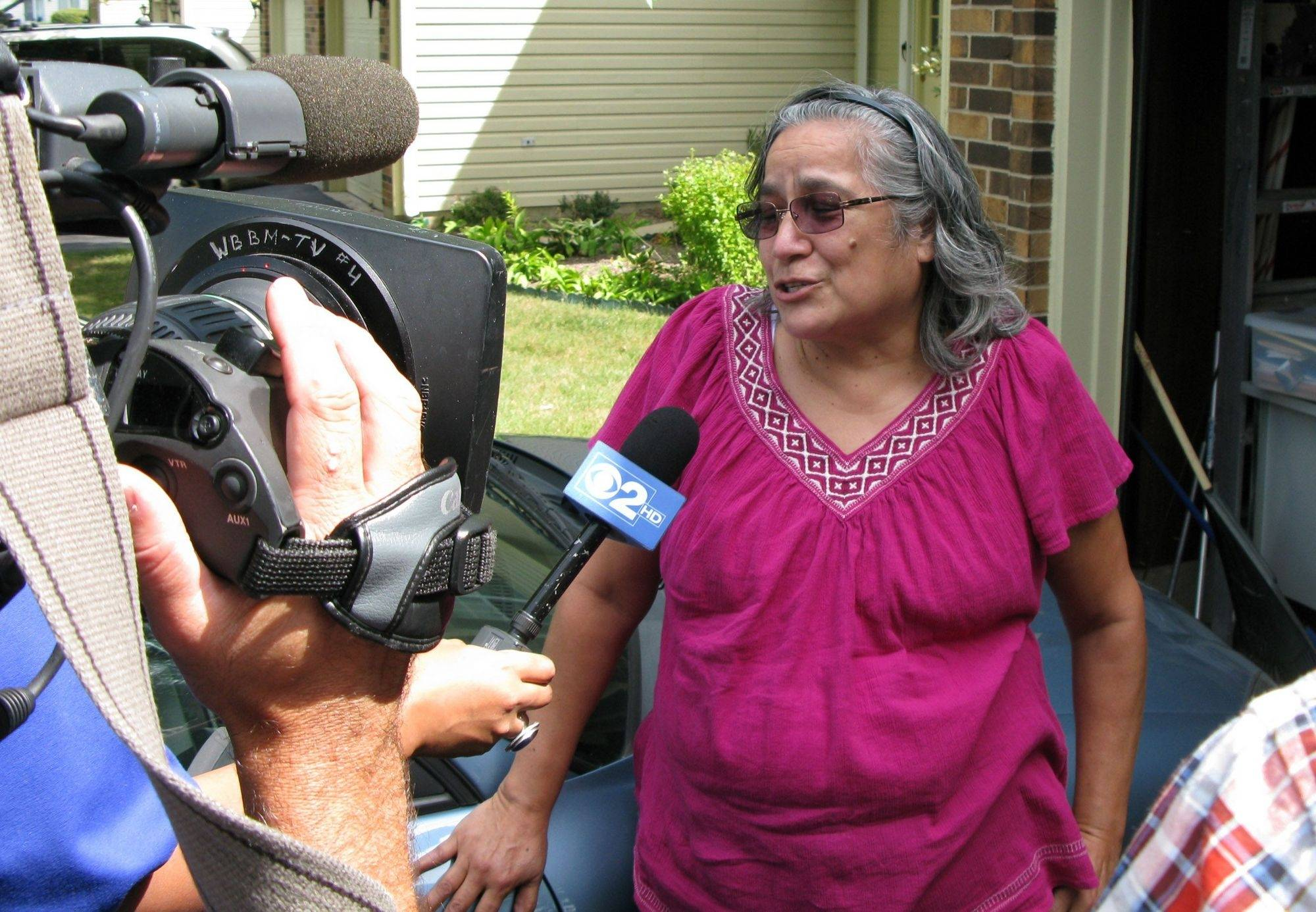 Gurnee resident Cynthia Parker talks Wednesday about being a Blagojevich juror.
