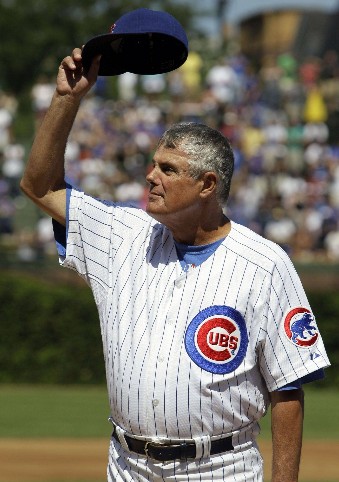 As he tearfully waves goodbye to the fans Sunday during his last game at Wrigley Field, Chicago Cubs skipper Lou Piniella manages a feat most of us Cubs fans just can't do. He quits the Cubs.