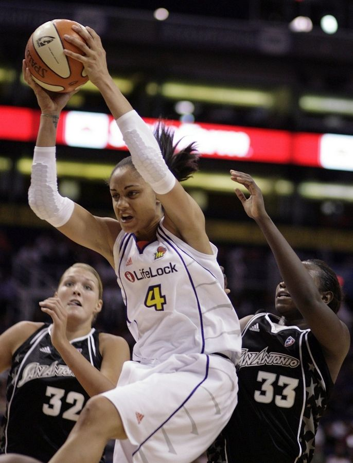 Phoenix forward Candice Dupree collected 8 rebounds and 32 points in her first WNBA playoff game Thursday against the San Antonio Silver Stars. The former Chicago Sky all-star was part of a three-team trade before the season.