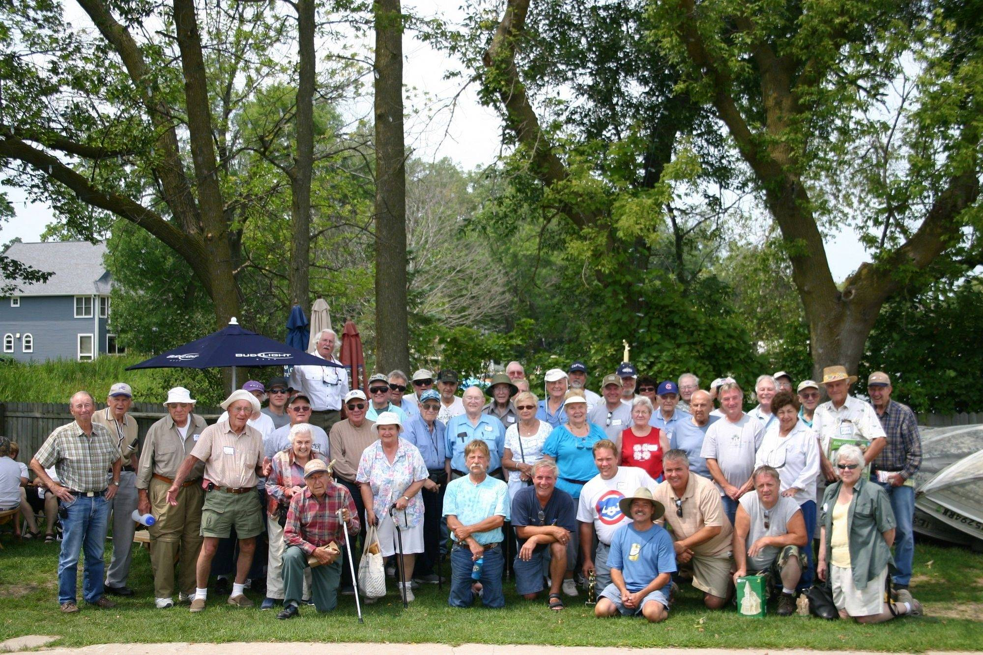 A group of 42 seniors and volunteer captains participated in the 11th annual Bob Lindstrom Memorial Fishing Derby held Aug. 7, at Bangs Lake in Wauconda.