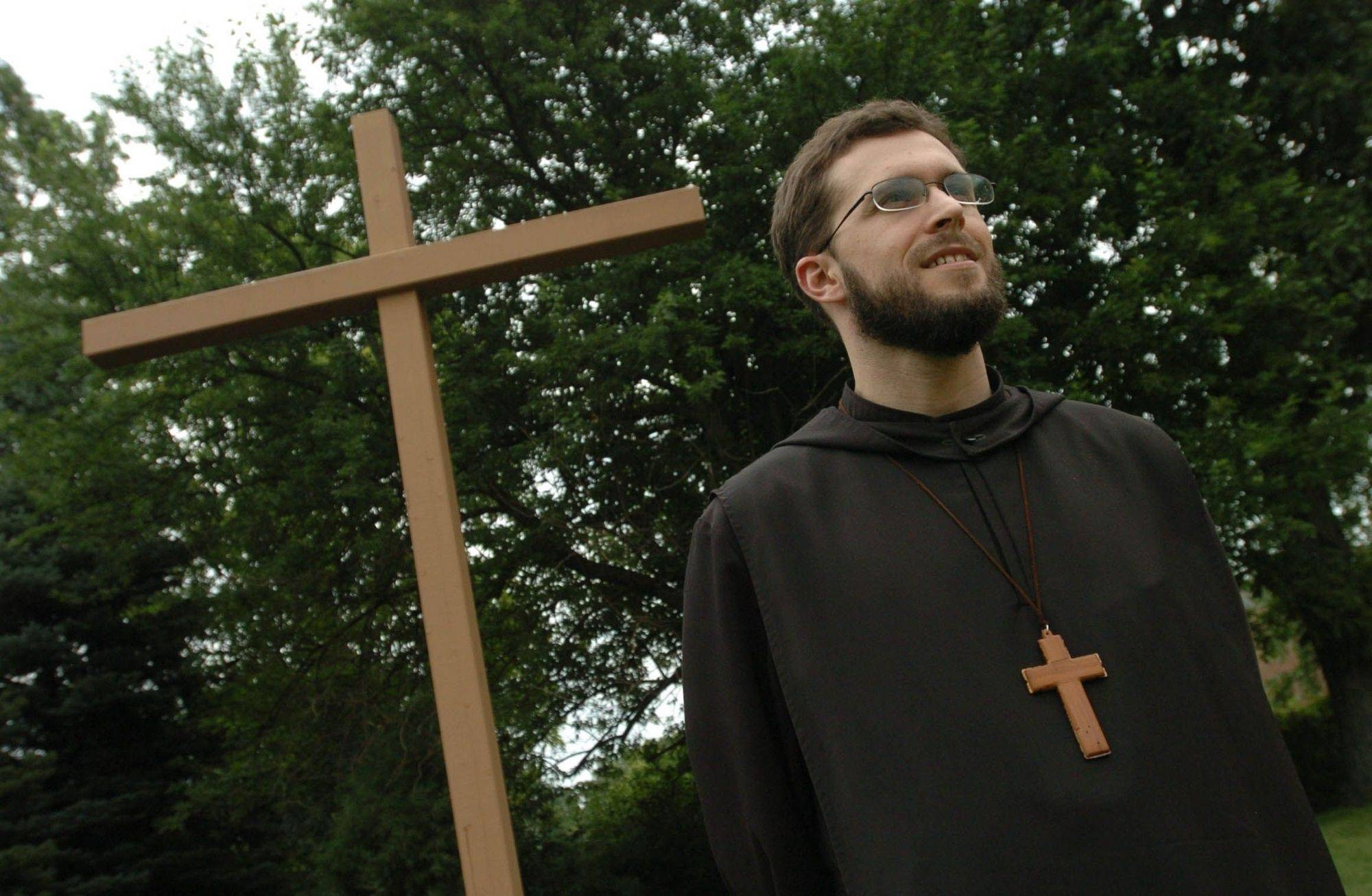 The Rev. Austin G. Murphy is the youngest monk at St. Procopius Abbey in Lisle - and its newest abbott.