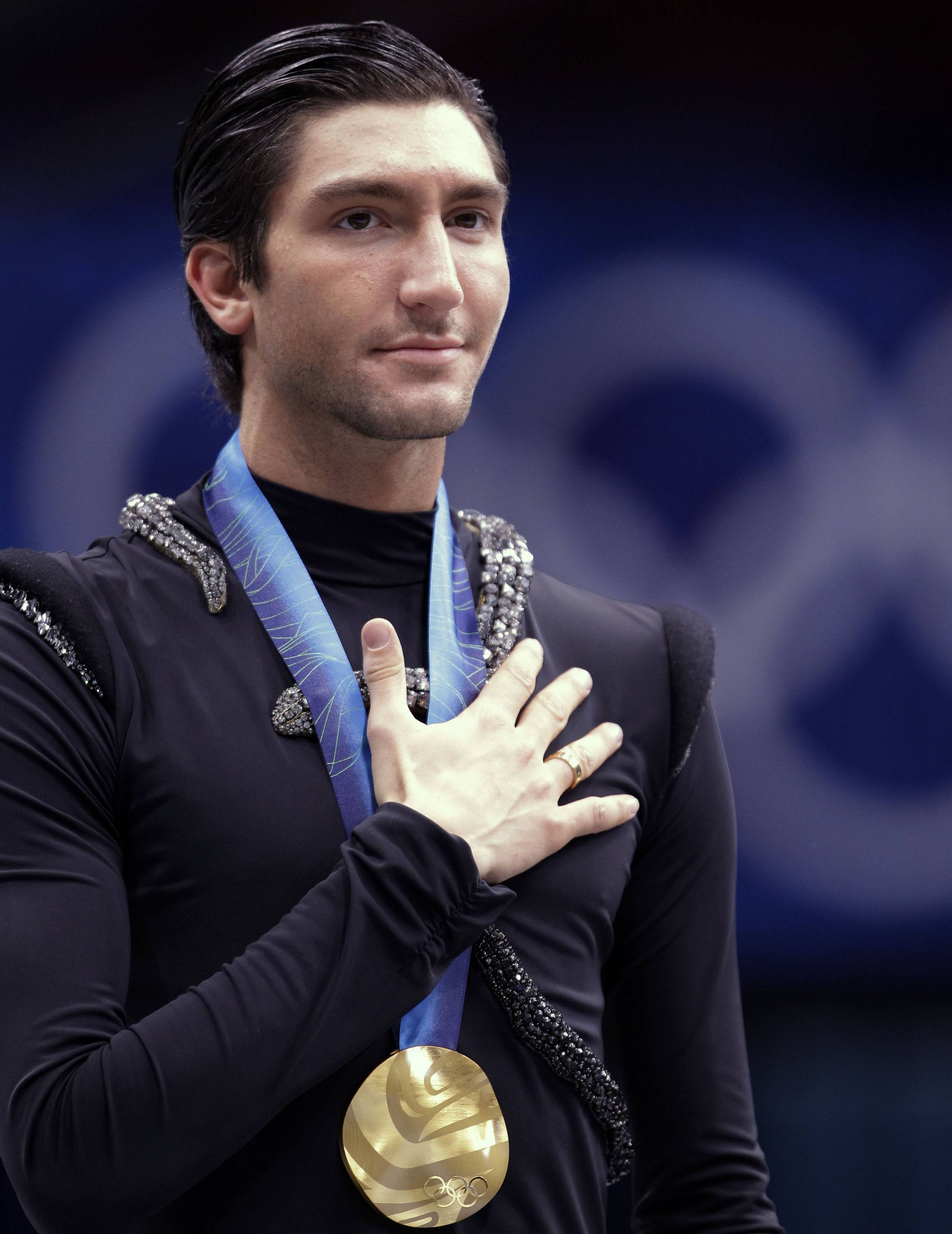 Olympic gold medalist Evan Lysacek is taking some time off.
