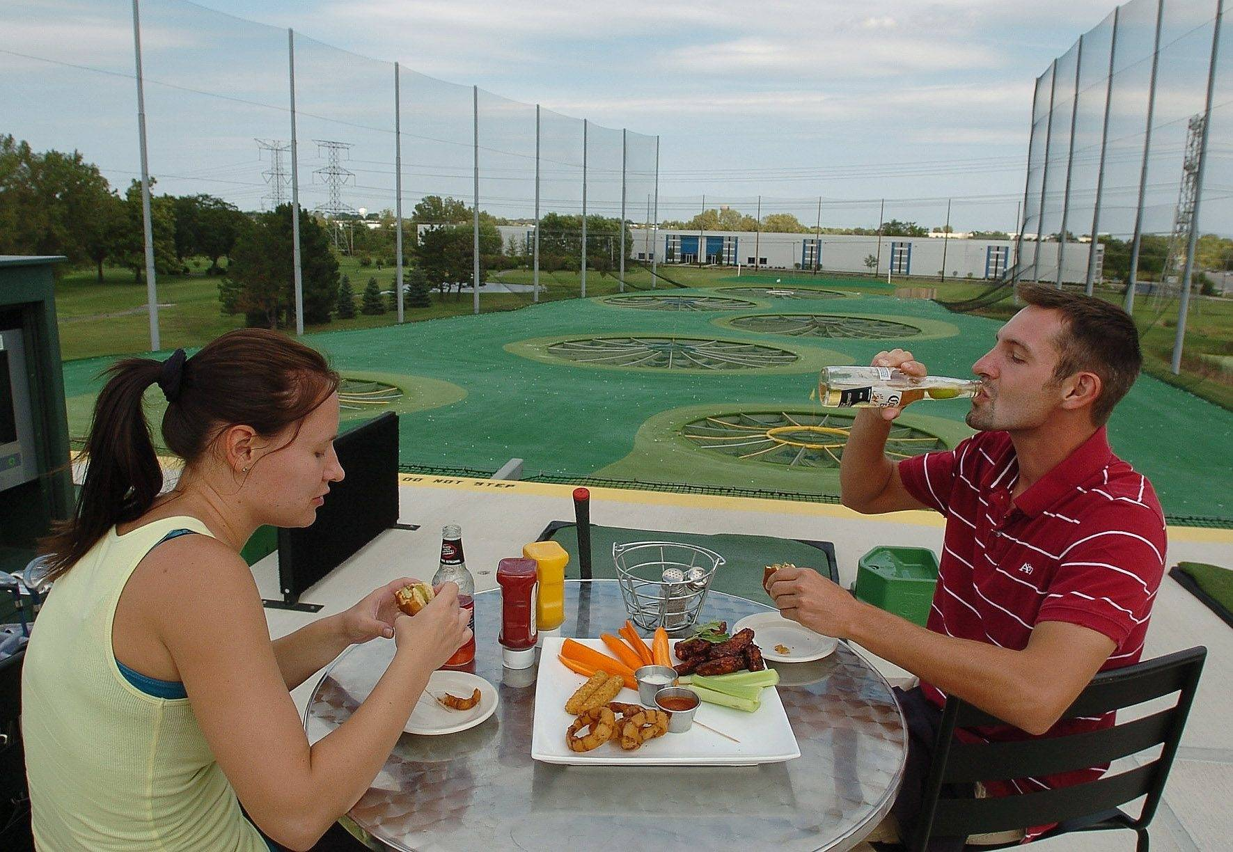 TopGolf's bars, beer garden should score with patrons