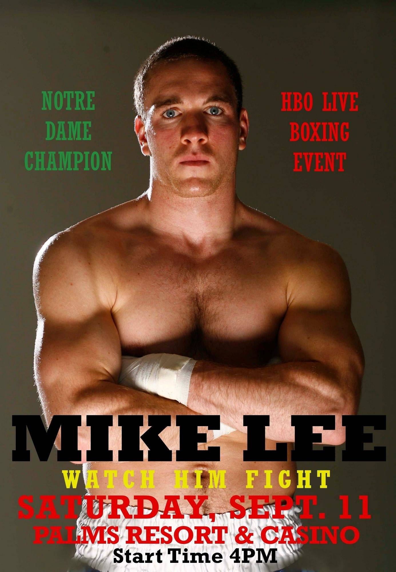 Mike Lee is hoping to continue making boxing connections, starting with his bout Saturday in Las Vegas.
