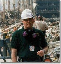 Mike Fagel of Sugar Grove served three months on the cleanup of the World Trade Center site in 2001 with his work for the Federal Emergency Management Agency.