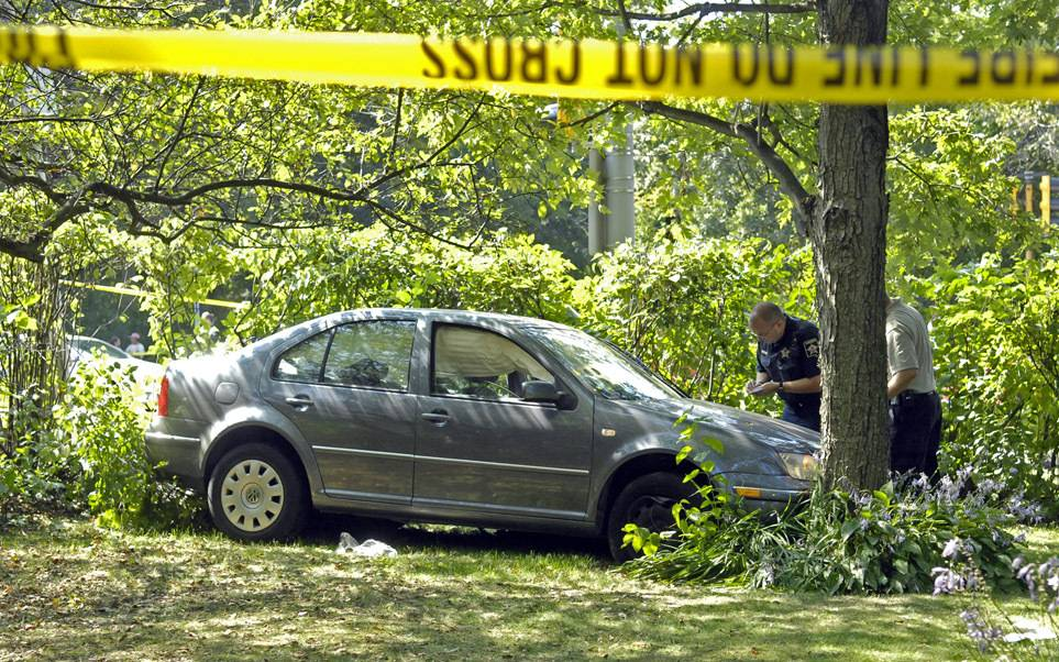 Robert Maday carjacked Domenica Saverino's vehicle as she arrived for workin Hoffman Estates. He was apprehended later in the day after crashing the car, a 2004 Volkswagen Jetta, during a police chase in West Chicago.