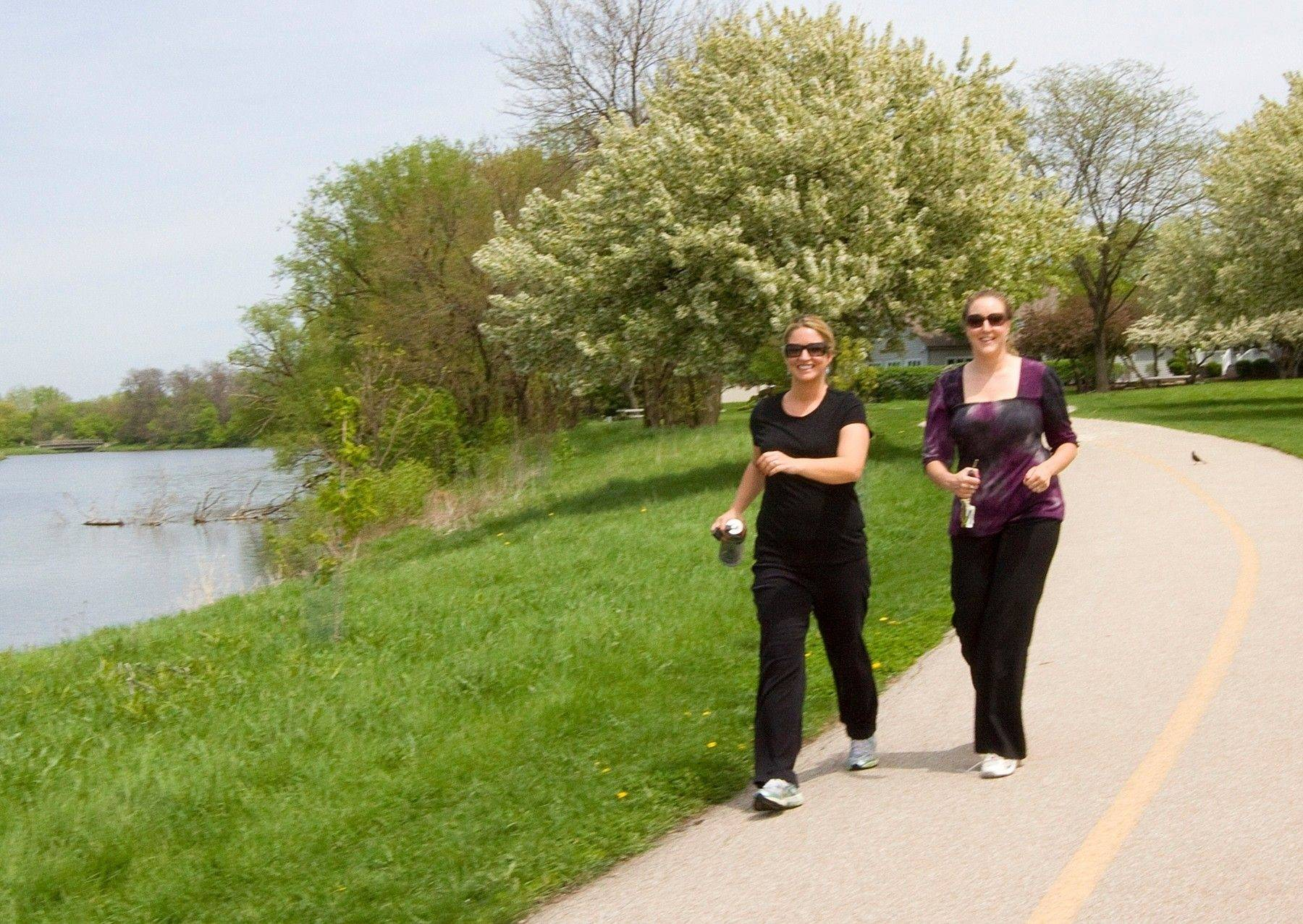 The popular trails at Waubonsie Lake will soon connect with new trails to the southwest when Waubonsie Creek Park is constructed - one of numerous projects the Fox Valley Park District is working on this season.