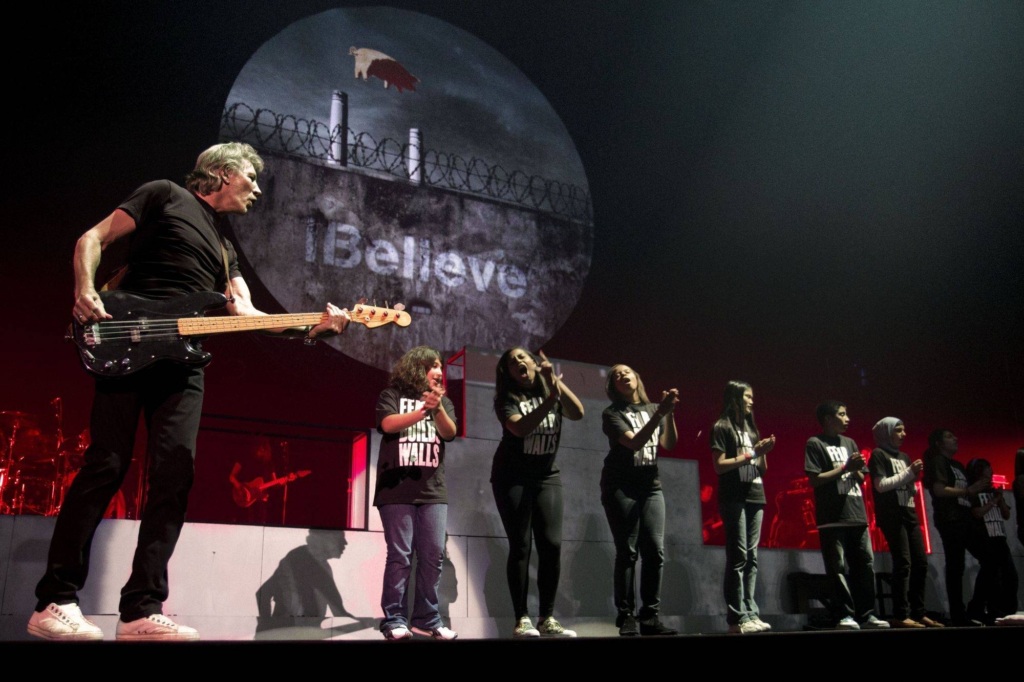 "Roger Waters' 30th-anniversary theatrical rendering of the band's classic 1980 double-album ""The Wall."""