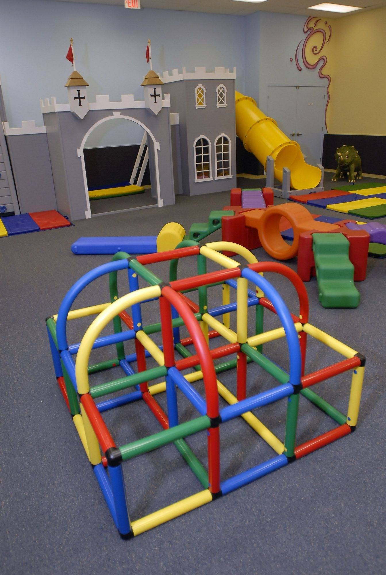 Large play rooms geared to promote learning are a feature at the new Kids and Company preschool and party facility in Buffalo Grove.
