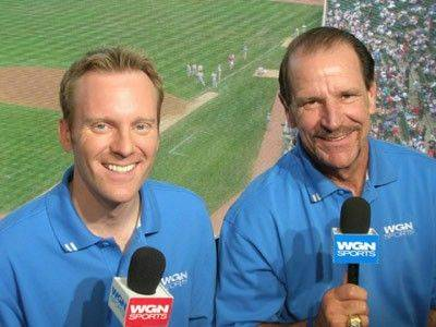 Bob Brenly, right, could be leaving the Cubs broadcast booth and TV partner Len Kasper to manage the Milwaukee Brewers.
