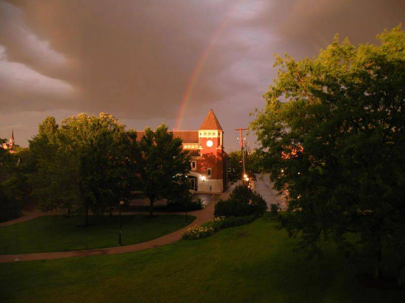 This was taken during a rainstorm in June in Naperville.