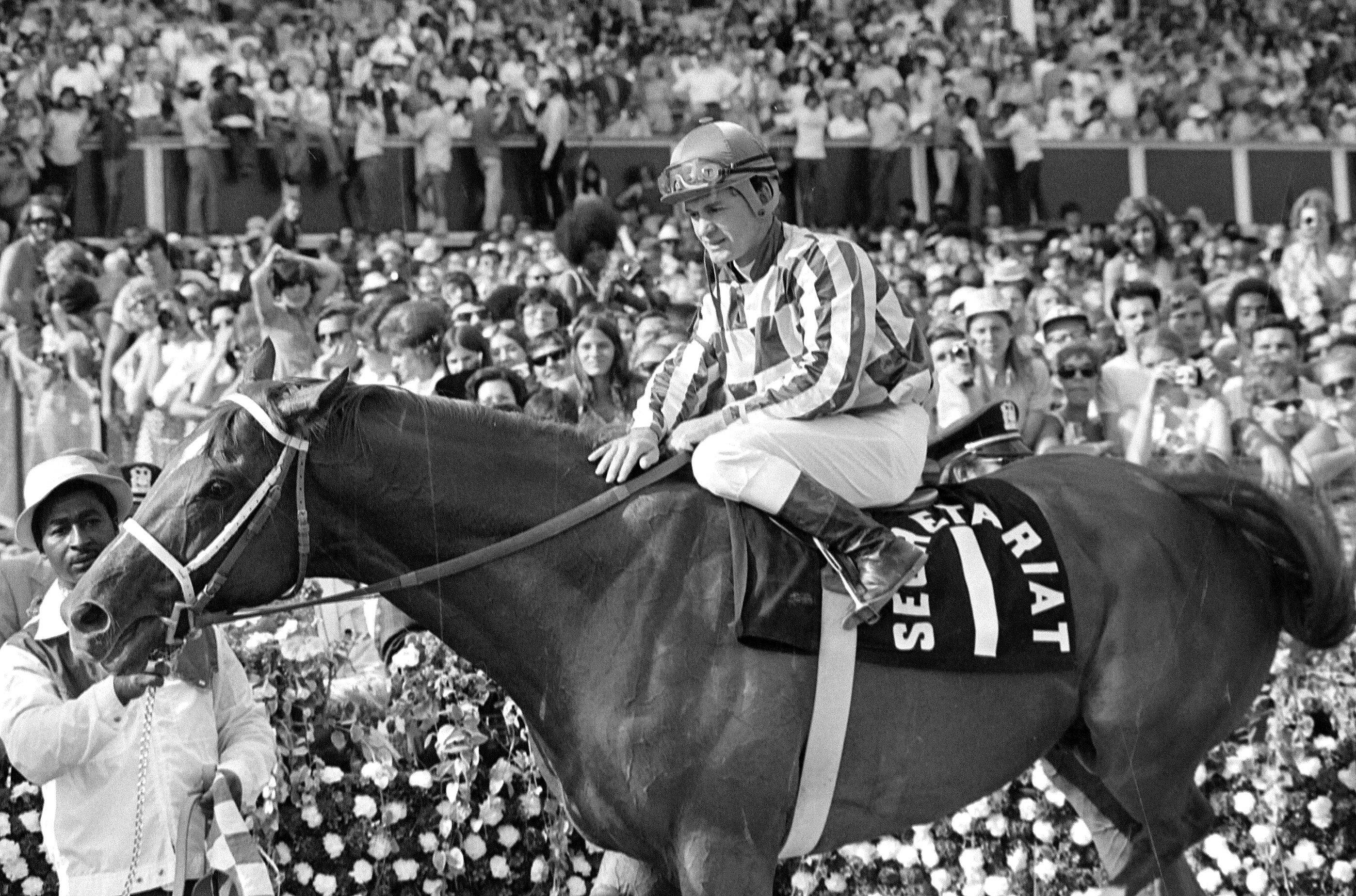 In 1973, more than 41,000 fans turned out to watch Secretariat win a four-horse race at Arlington Park just three weeks after capturing the nation's attention for winning the Triple Crown.