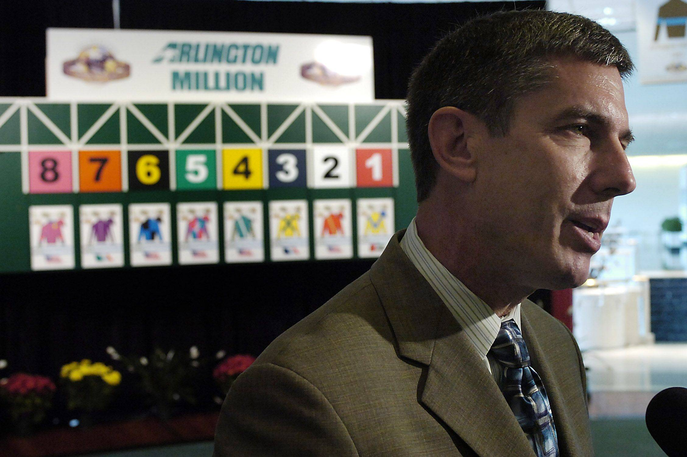 After finishing his fifth season at running Arlington Park, track president Roy Arnold has resigned to pursue other interests. Arlington Park chairman Richard Duchossois said he will handle the duties until a successor is found.