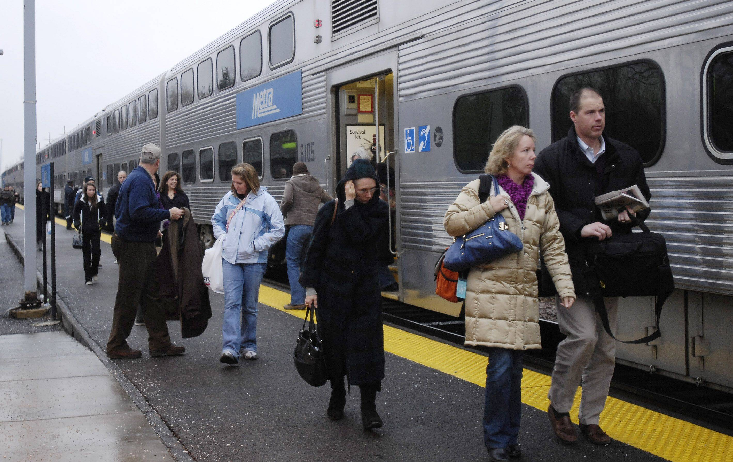 Improved public transit is part of a new regional plan proposed by CMAP.