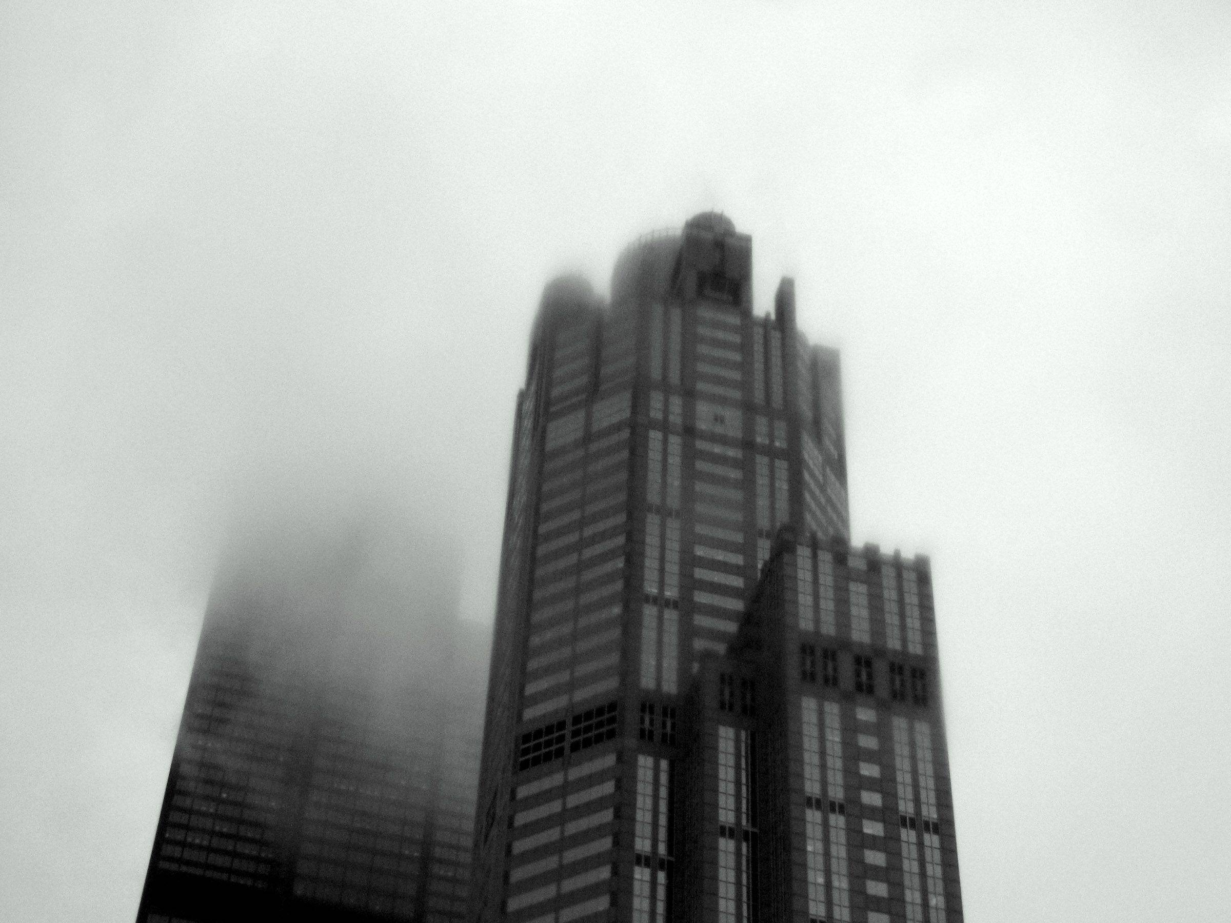 A gloomy day in downtown Chicago.