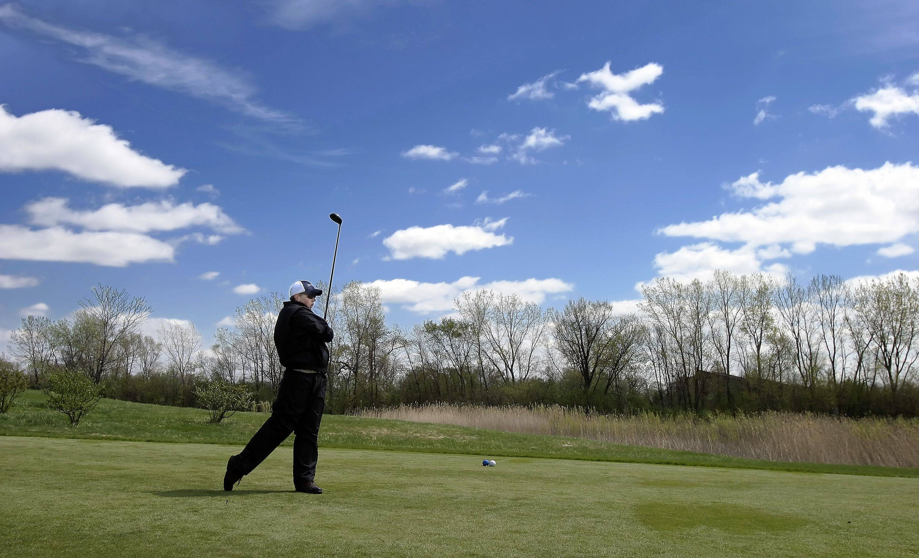 Maple Meadows Golf Course in Wood Dale is one of three owned by the DuPage Forest Preserve District, where candidates are debating the courses' future.