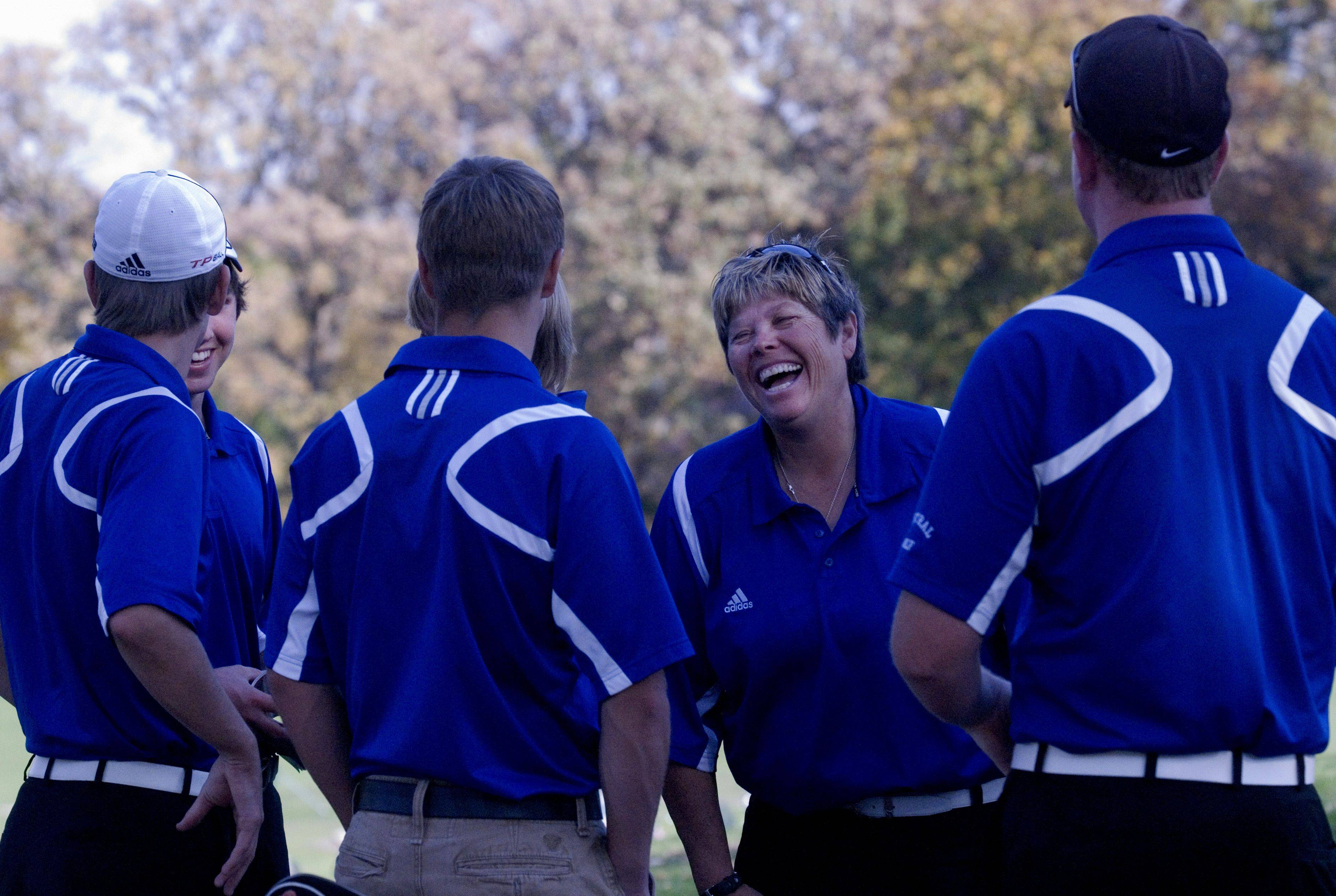 Coach Deb Twenhafel has waited 22 years for Burlington-Central High School?s boys golf team to qualify for the state tournament.