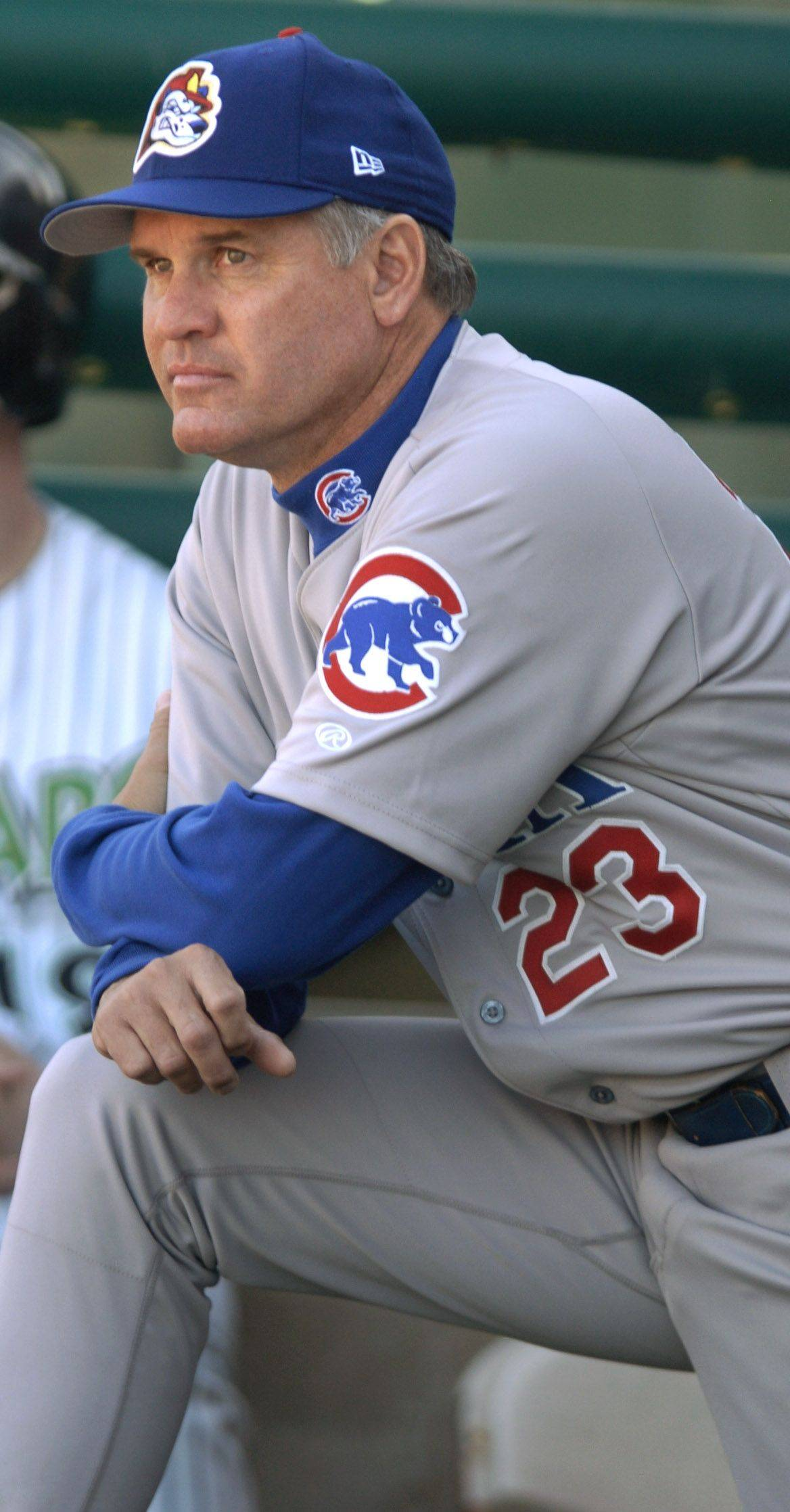 After four seasons as a minor-league manager in the Cubs' system, Ryne Sandberg says he hasn't yet thought about what he will do now that he won't be managing the big-league team.