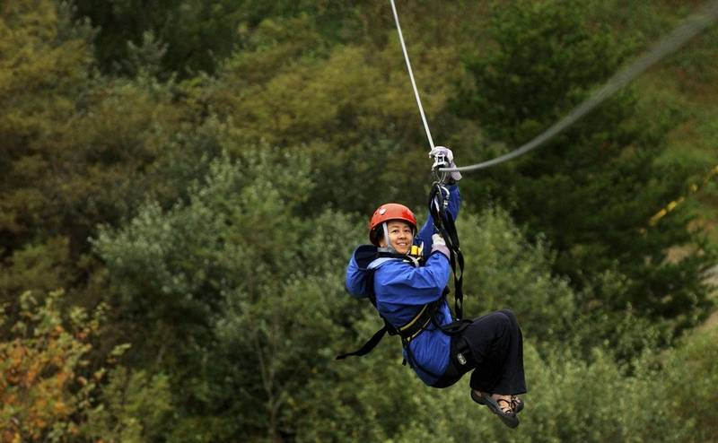 Zip Lines Add A Thrill To Vacation