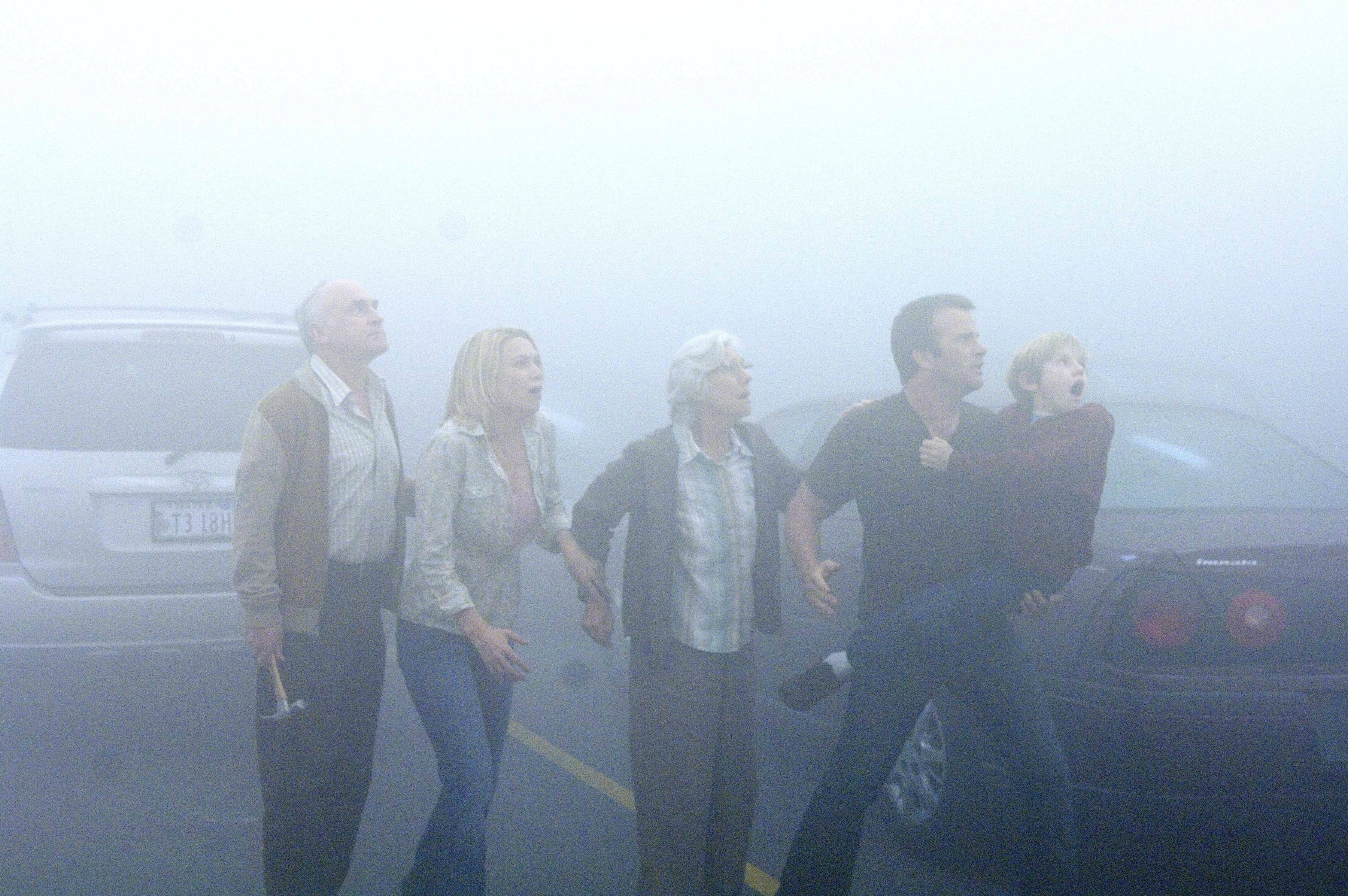 "A strange fog conceals terrifying secrets in ""The Mist."""
