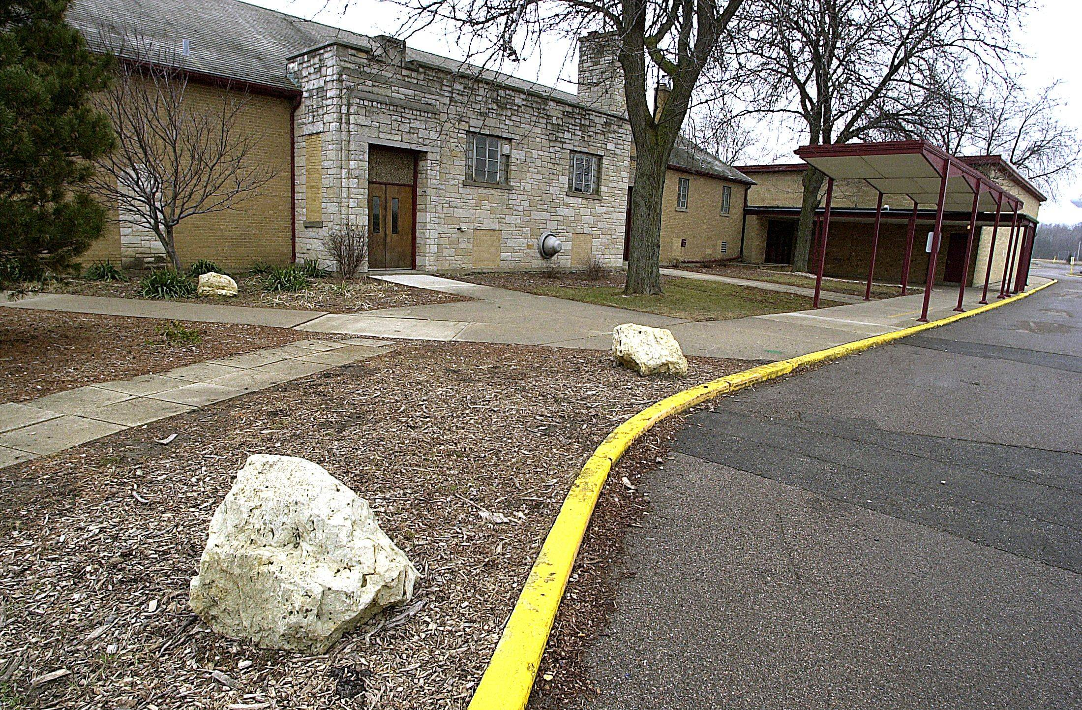 Big Hollow Elementary District 38 plans to knock down the old primary school building at routes 12 and Route 12. The former Taveirne Middle School also will be demolished, officials said.