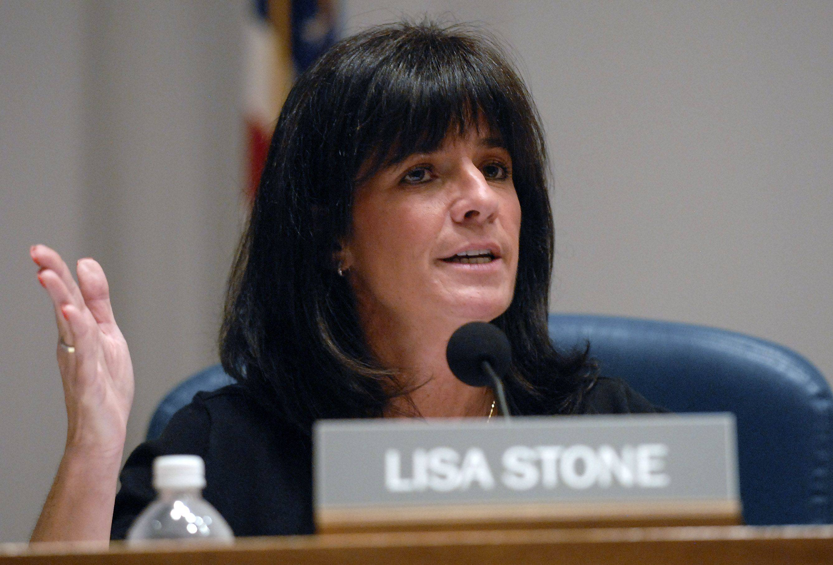 Buffalo Grove Trustee Lisa Stone says she believes residents know her heart is in the right place and will reject attempts to remove her from office.