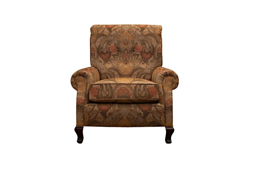 Slate, terra cotta and mustard make the Tawny chair from Arhaus perfect for fall. It's on sale for $1,500 at arhaus.com and can be seen at stores in Oak Brook and South Barrington.