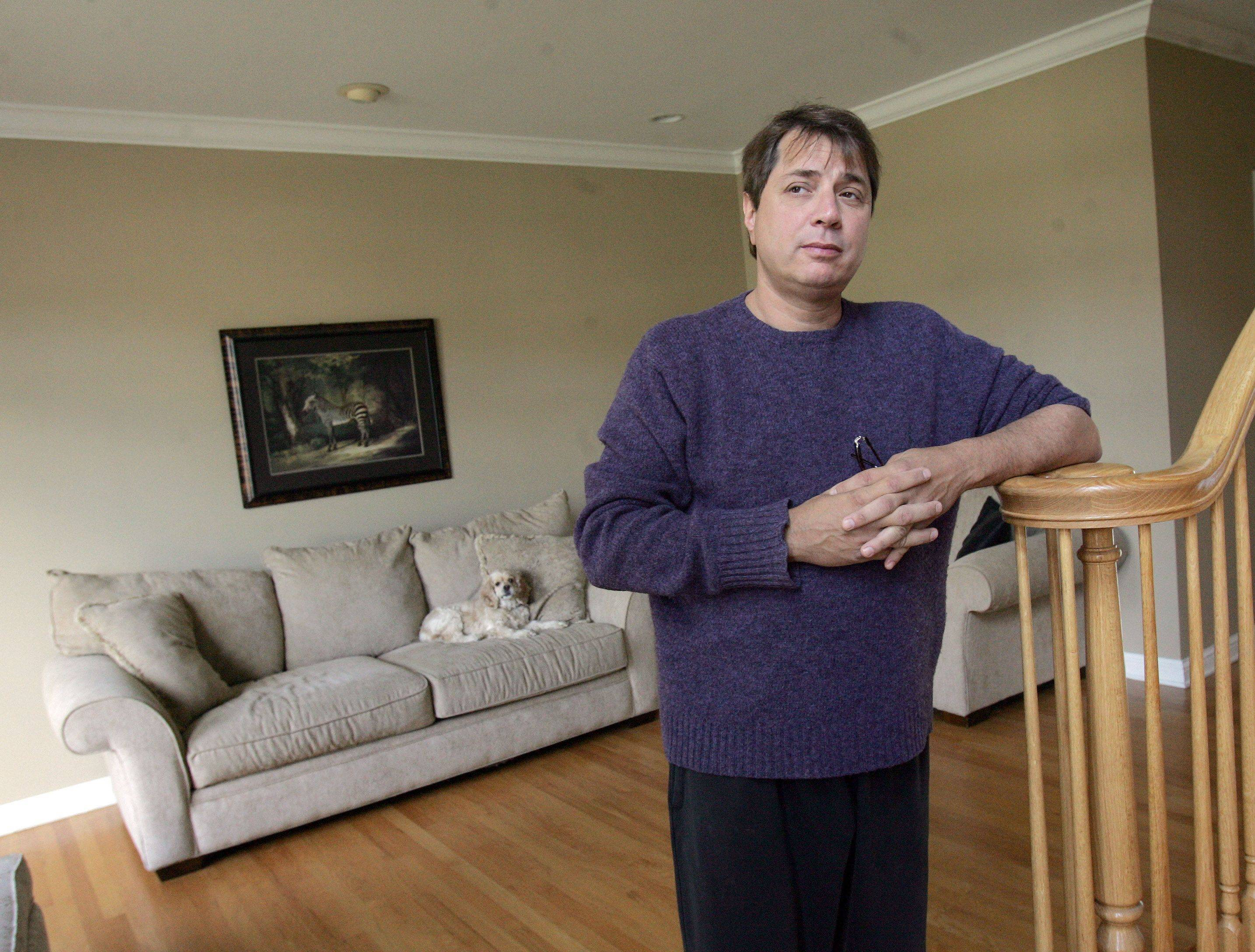 Michael Slowik of Bloomingdale filed for bankruptcy this year and is fighting to keep his home.