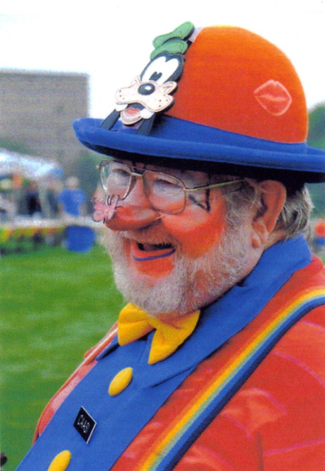 "Tom Nehls portrays Caasi the Clown in the family program ""Caasi the Clown Comes to Town"" on Saturday, Nov. 6, at the Glen Town Center in Glenview."
