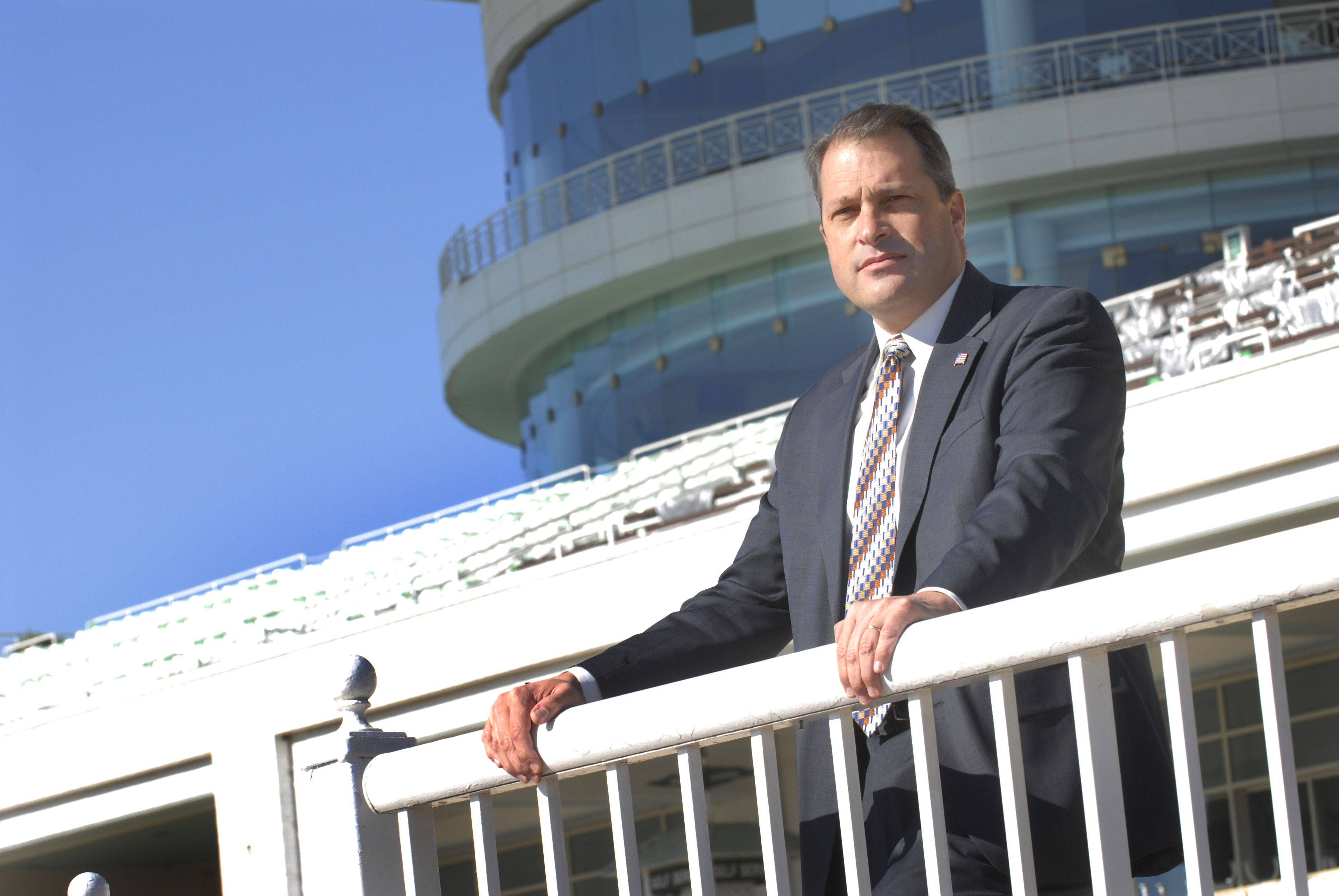 After 17 years working at the track, Tony Petrillo is the new general manager for Arlington Park.