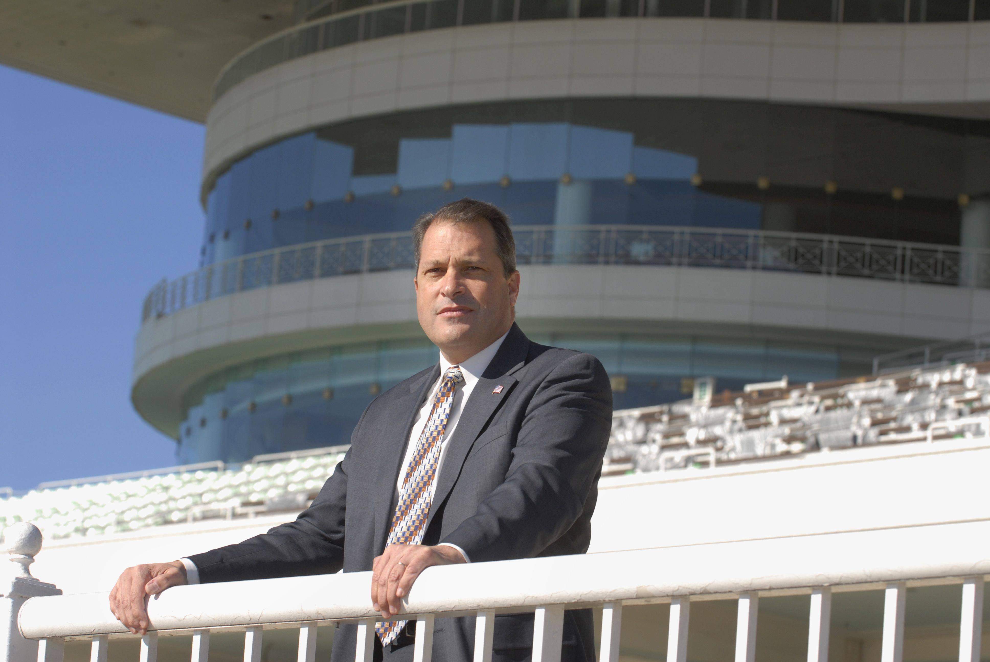 In his 17 years at the track, Tony Petrillo, the new general manager for Arlington Park, has walked every inch of the grounds many times over.