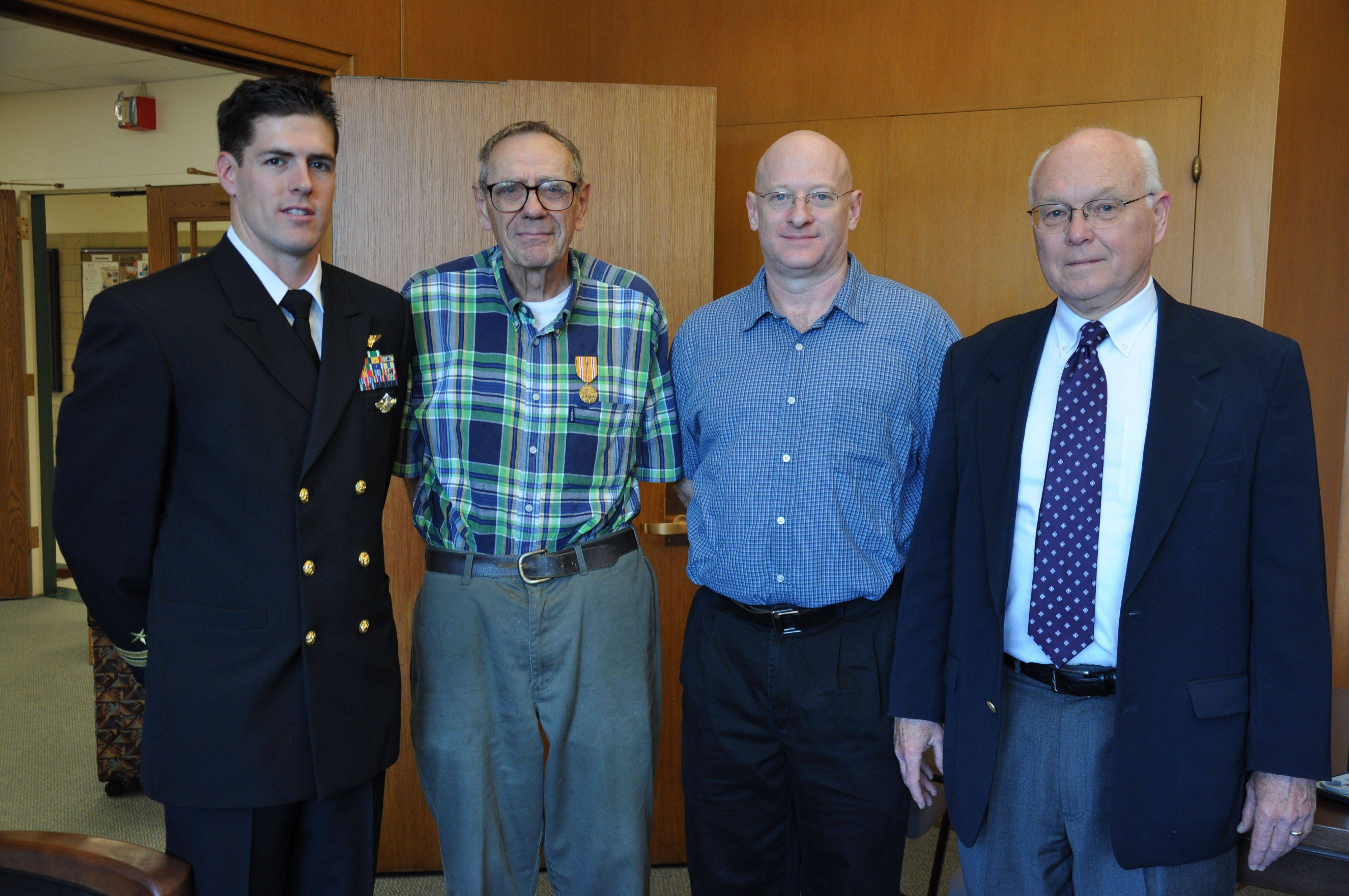 Six decades later, Arlington Heights vet receives his medals