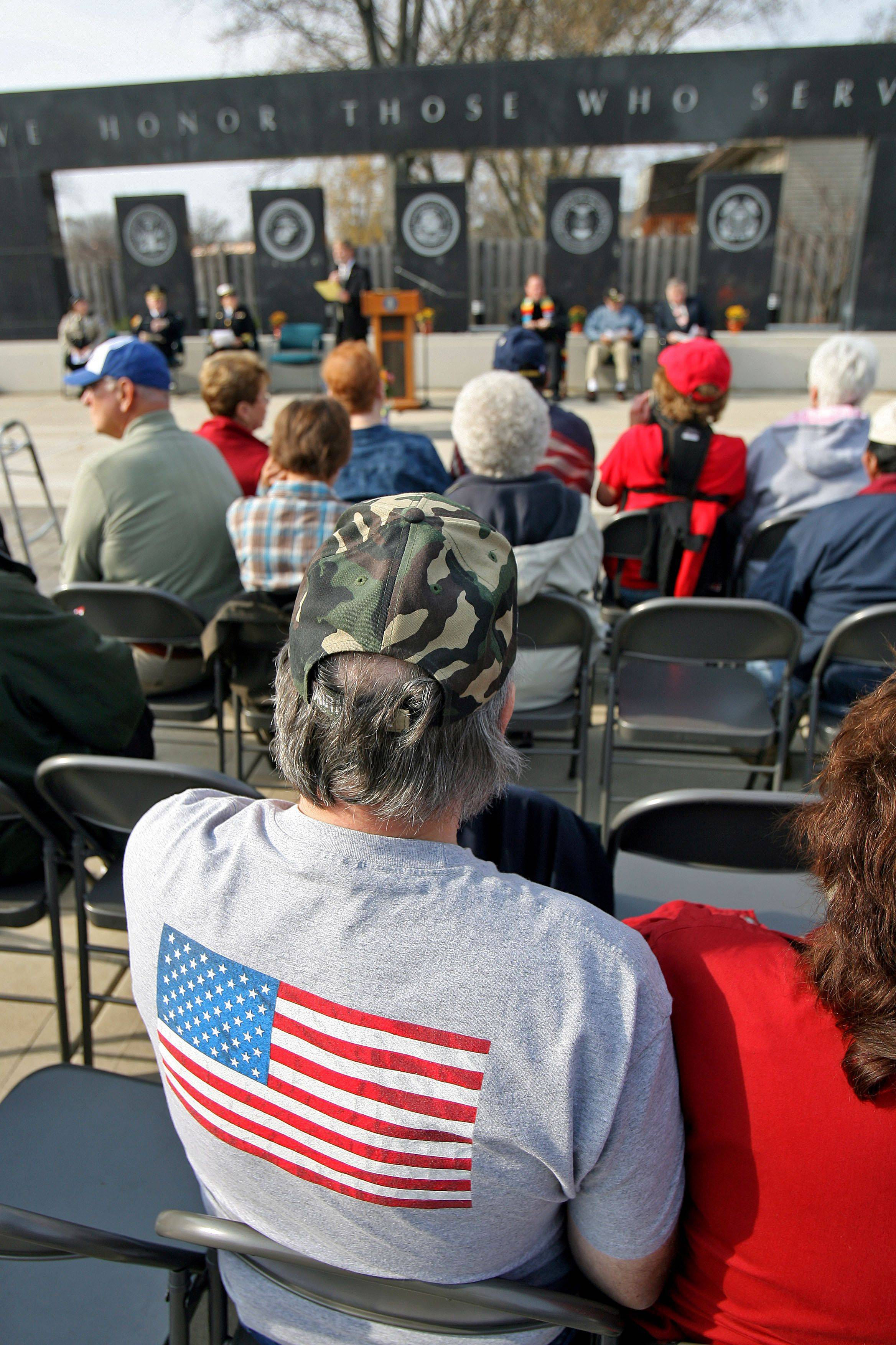 Local veterans were honored during a Veterans Day ceremony at the Lindenhurst Veterans Memorial Thursday morning.