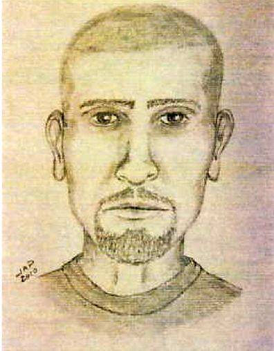 Composite sketch of the driver of the semi-tractor driver that ran over Choice Taylor.