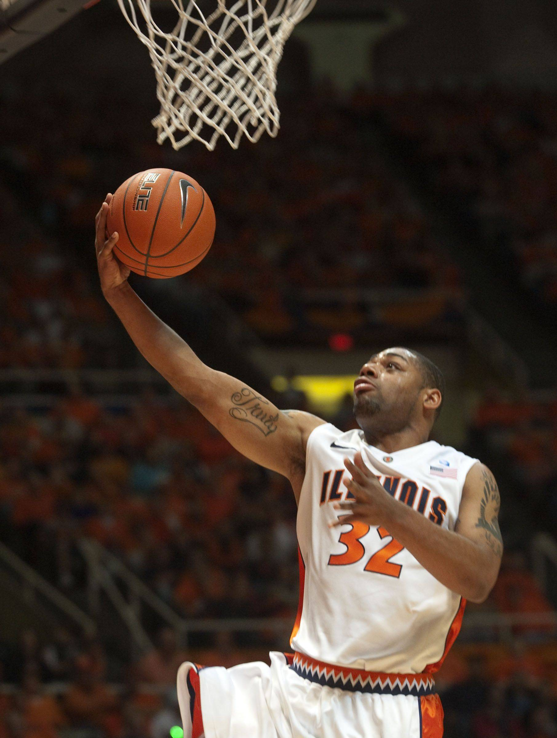 Illinois' Demetri McCamey scored 18 points and dished off 9 assists Saturday.