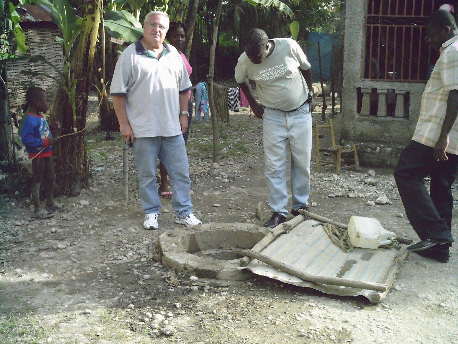 John Peterson, of Elburn, returned home Tuesday after a week in Haiti.