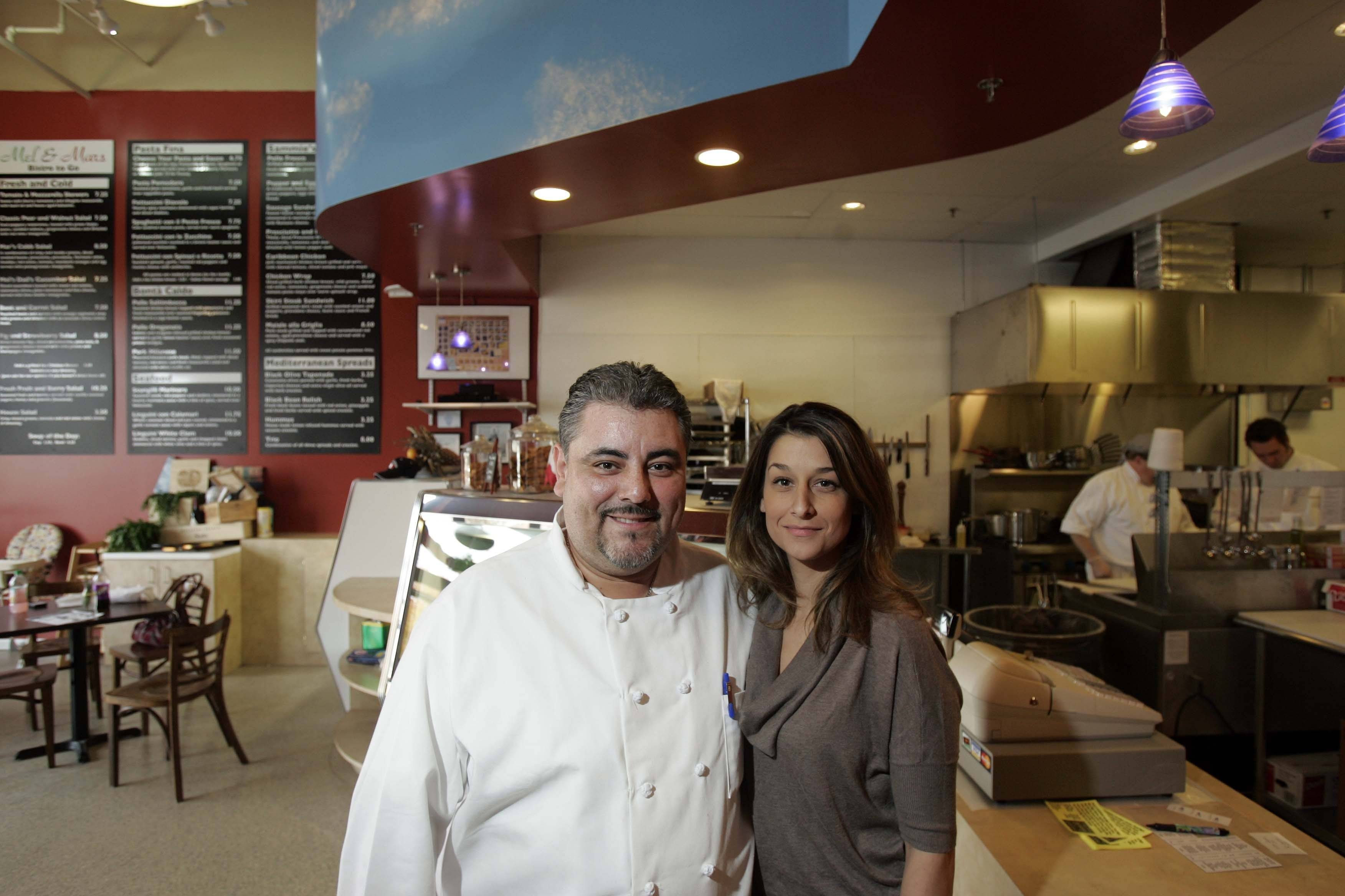 Mario and Melisa Arevalo recently opened Mel & Mar's Bistro in Algonquin. The restaurant, which is primarily carryout, features Italian specialties.