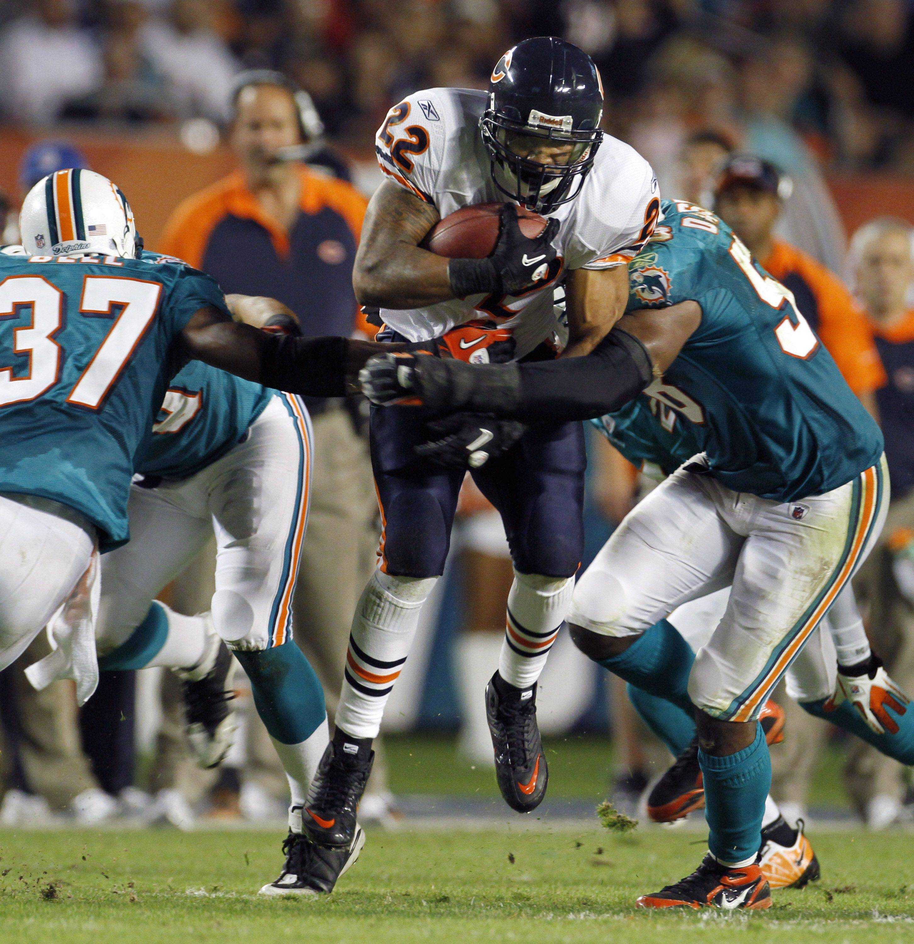 Images: Bears at Dolphins